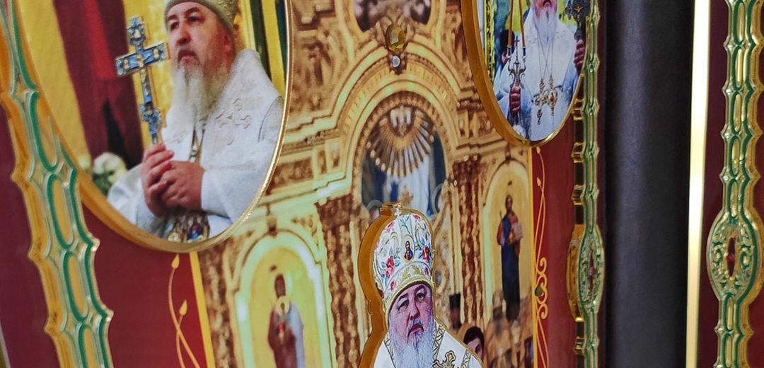 Наградной центр «Сан-Сан» поздравил Митрополита Кирилла с юбилеем хиротонии