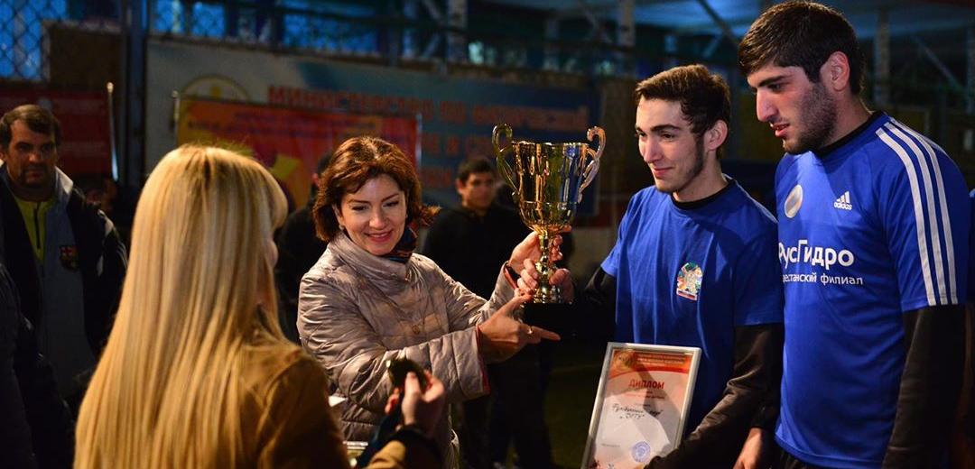 «Сан-Сан» – наградной партнер чемпионата по мини-футболу в рамках спортивного форума «Политех»