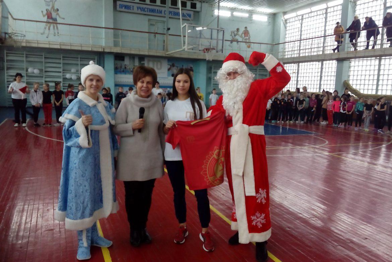 Наградной центр «Сан-Сан» на открытии фестиваля «В Новый год с комплексом ГТО» в Пятигорске